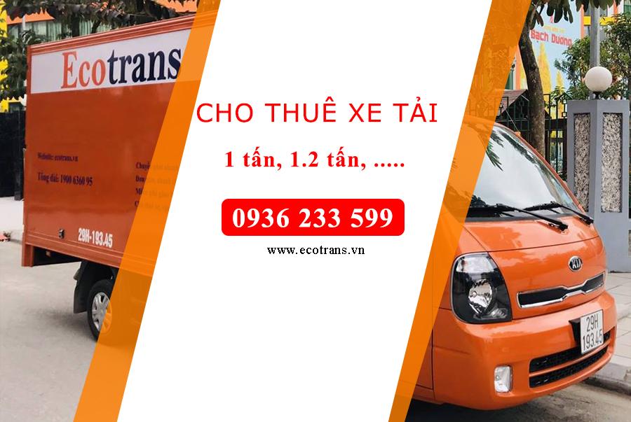 Taxi tải Phố Nguyễn Thị Minh Khai