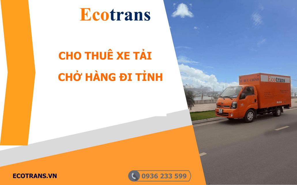 Xe Tải chở hàng đi Tỉnh tại Hà Nội