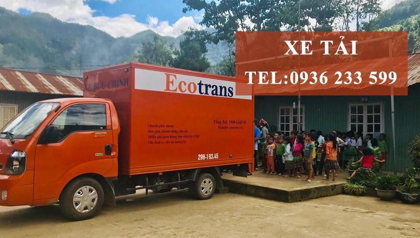 Giao hàng nhanh chóng, an toàn chất lượng khi thuê xe tải Ecotrans