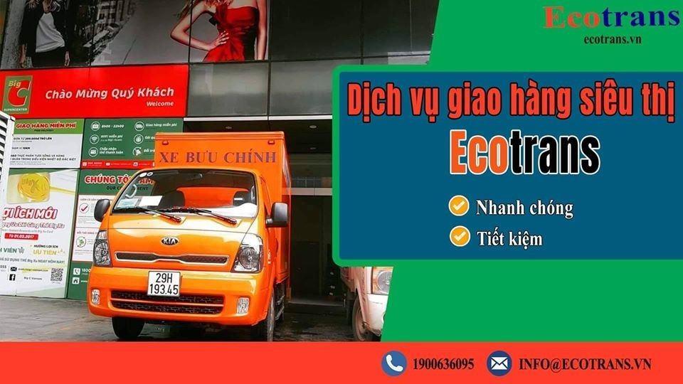 Dịch vụ giao hàng siêu thị tại Ecotrans