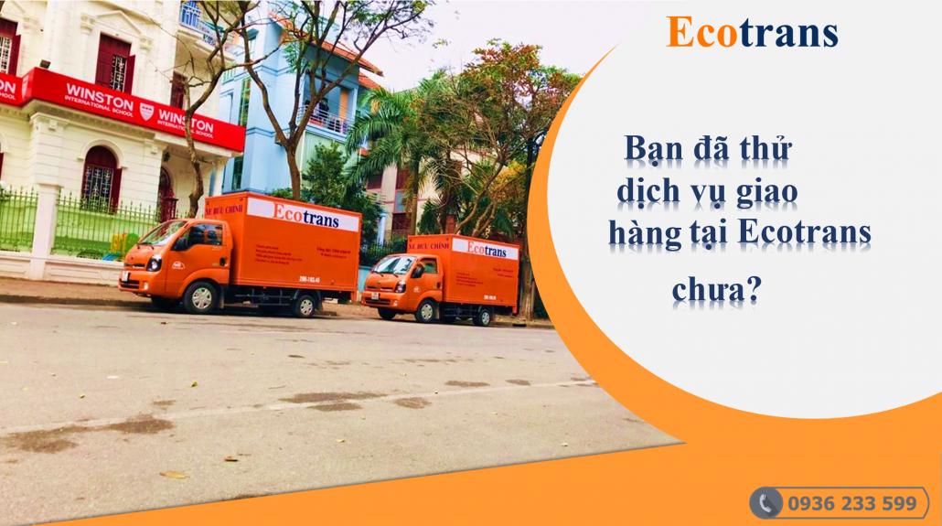 Ecotrans- giao hàng siêu thị