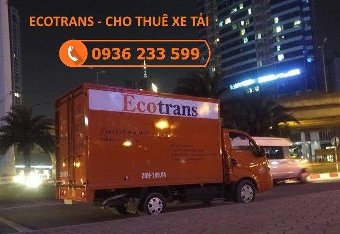 Ecotrans đơn vị vận chuyển được khách hàng tin tưởng lựa chọn