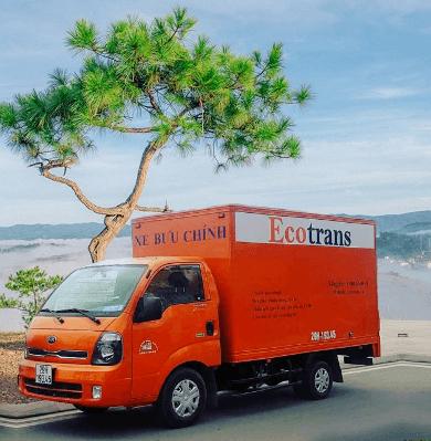 Cho thuê xe chở hàng giá rẻ tại Ecotrans