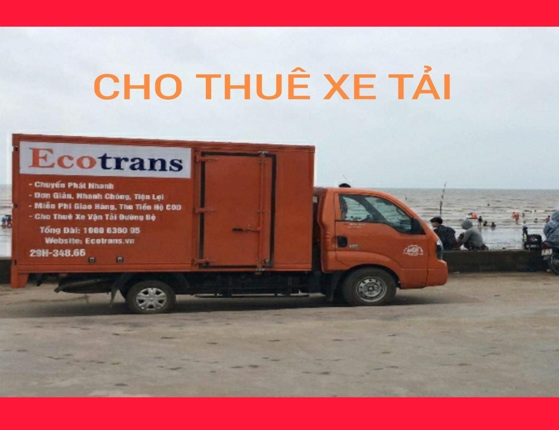 Đảm bảo thời gian cho bạn khi thuê xe tải tại Ecotrans