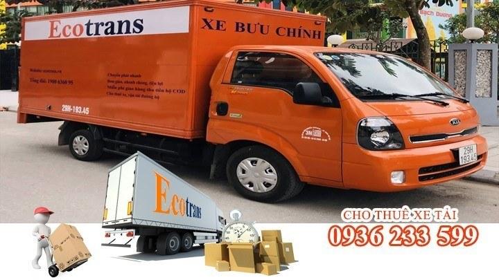 Ecotrans chuyên cung cấp dịch vụ trọn gói khi thuê xe tải