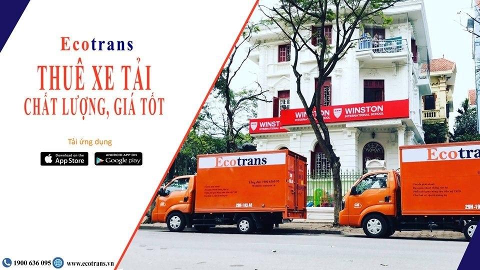 Ecotrans luôn hỗ trợ giá dịch vụ cho thuê xe tải chở hàng giá rẻ tiết kiệm nhất