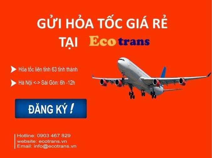 Chuyển phát nhanh hỏa tốc tại Ecotrans