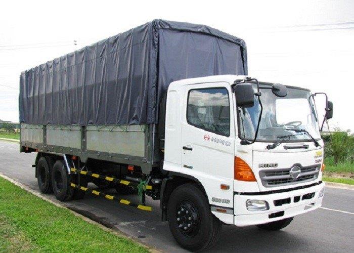 Xe tải hạng trung chuyên chở hàng hóa khối lượng vừa