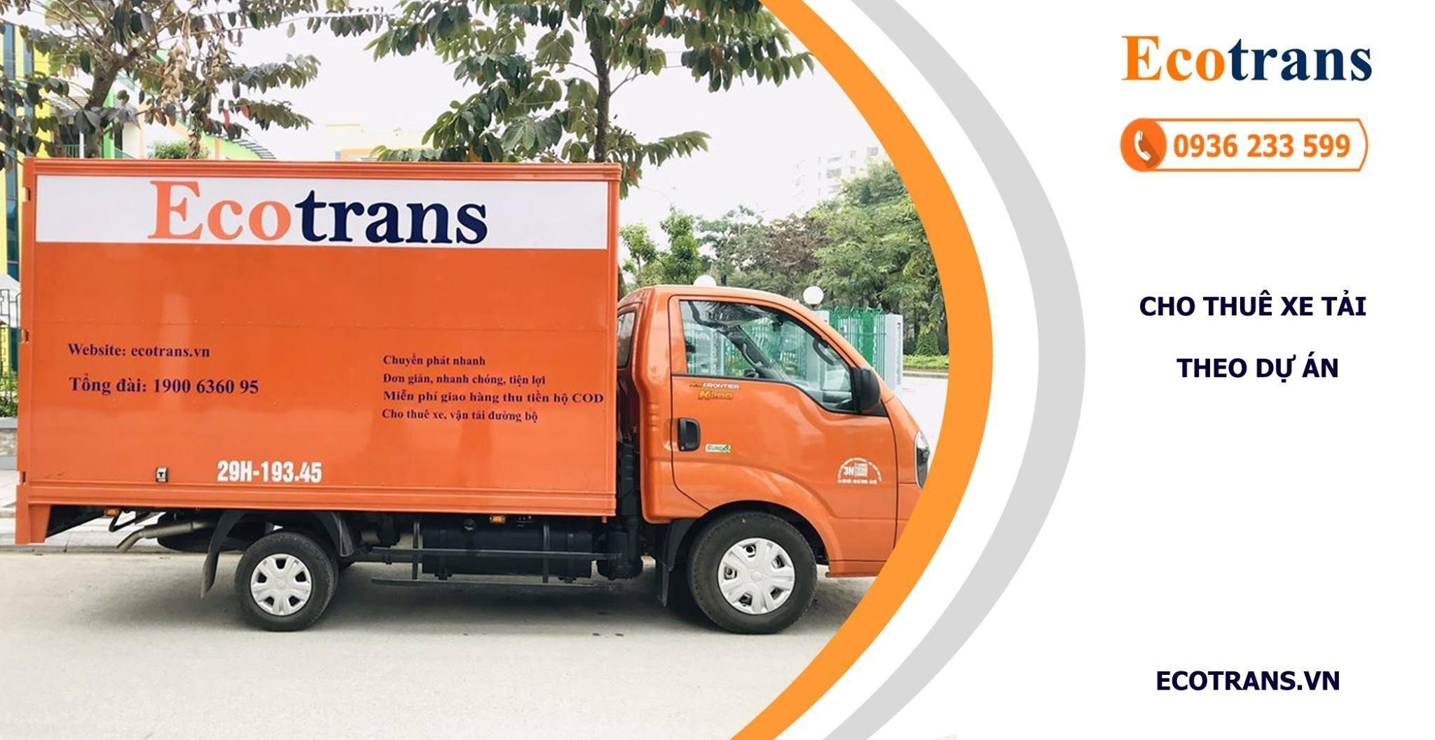 Giá ưu đãi với dịch vụ thuê xe tải theo dự án