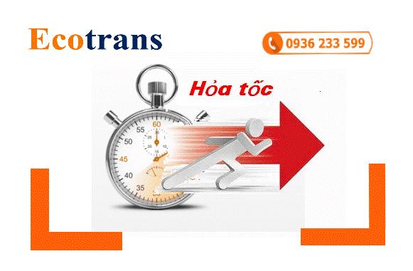 Cùng Ecotrans tăng tốc với dịch vụ hỏa tốc Hà Nội