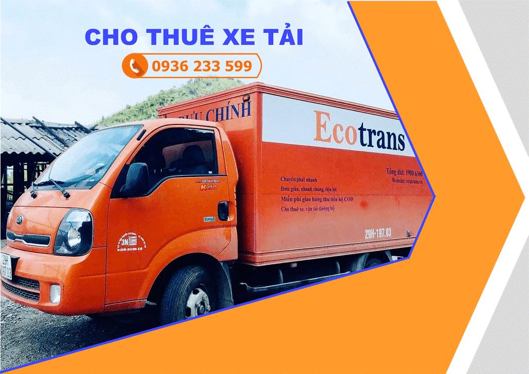 Dịch vụ cho thuê xe tải Ecotrans